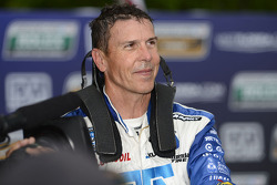 Victory lane: Scott Pruett celebrates