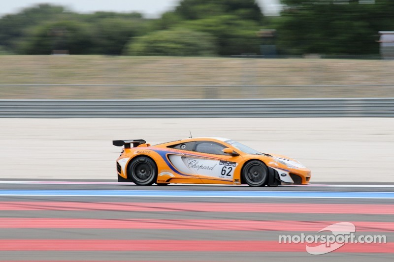 #62 Lapidus Racing McLaren MP4-12C:  Klaas Hummel, Phil Quaife, Tim Mullen