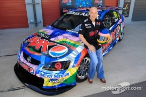 Jacques Villeneuve unveils the Kelly Racing livery