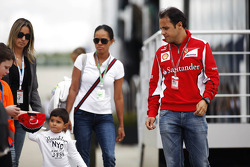 Felipe Massa, Ferrari with his family
