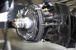 McLaren brake detail