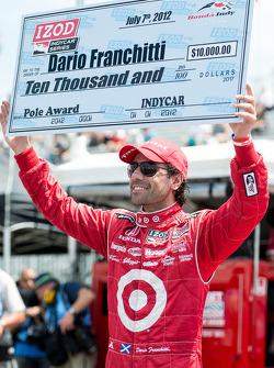 En pole position Dario Franchitti