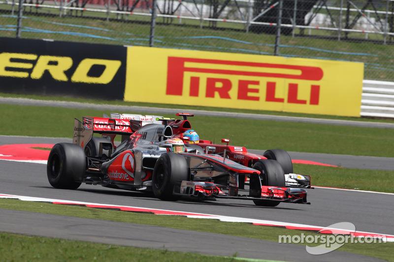 Lewis Hamilton, McLaren Mercedes en Lewis Hamilton, McLaren Mercedes