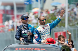 Rubens Barrichello and Tony Kanaan