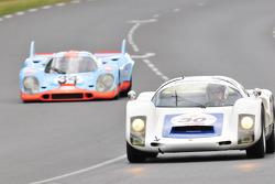 #30 Porsche 906: Romain Rocher, Jean Pierre Martin