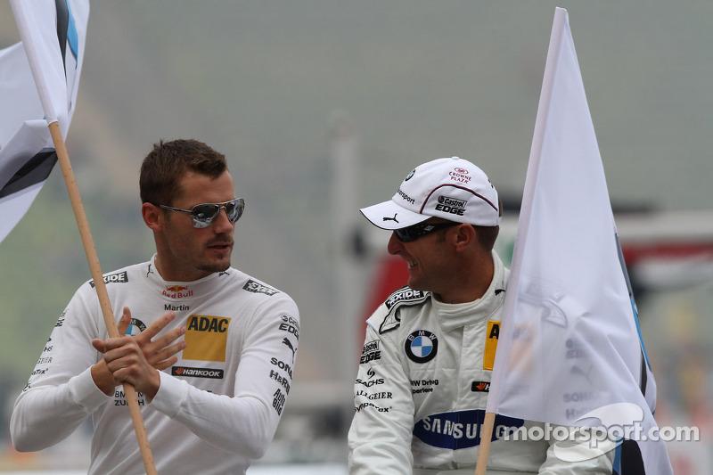 Martin Tomczyk, BMW Team RMG BMW M3 DTM Joey Hand, BMW Team RMG BMW M3 DTM