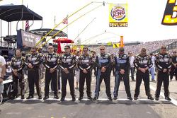 Stewart-Haas crew members