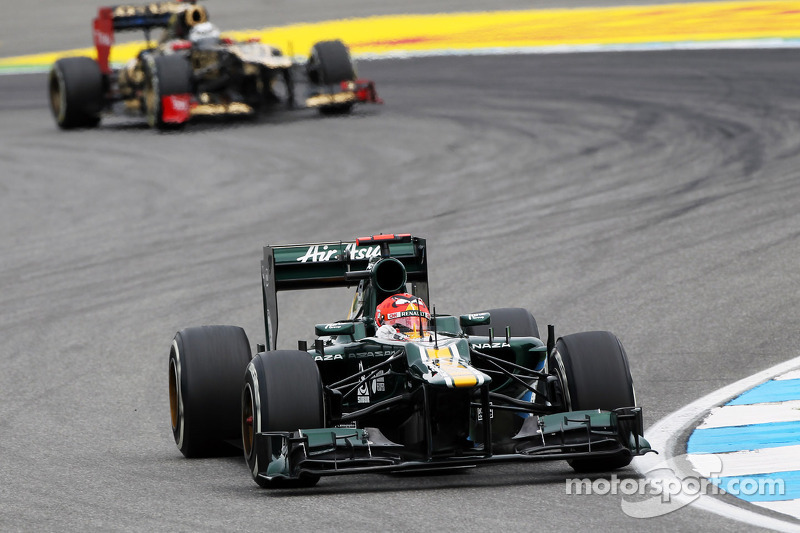 Heikki Kovalainen, Caterham en Kimi Raikkonen, Lotus F1