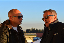 Robert Huff, Chevrolet Cruze 1.6T, Chevrolet and Marcello Lotti, WTCC General Manager