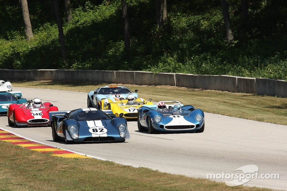 Keith Wiggins and his HVM Racing team can help keep all these historic Lolas on track