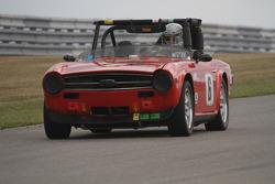 #6, 1970 Triumph TR6, Bill Tobin