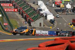 #5 Boutsen Ginion Racing McLaren MP4-12C GT3: Edouard Mondron, Jack Clarke, Nico Verdonck, Eric van de Poele
