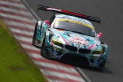 #0 GSR&Studie with Team Ukyo BMW Z4 GT3: Nobuteru Taniguchi, Tatsuya Kataoka