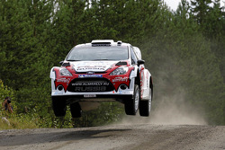 Evgeney Novikov and Denis Giraudet, Ford Fiesta RS WRC