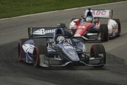 Alex Tagliani, Bryan Herta Autosport w/Curb Agajanian Honda Mike Conway, AJ Foyt Enterprises Honda