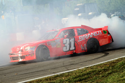 Race winner Justin Allgaier