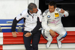 Jens Marquardt, BMW Motorsport Director, Andy Priaulx, BMW Team RBM