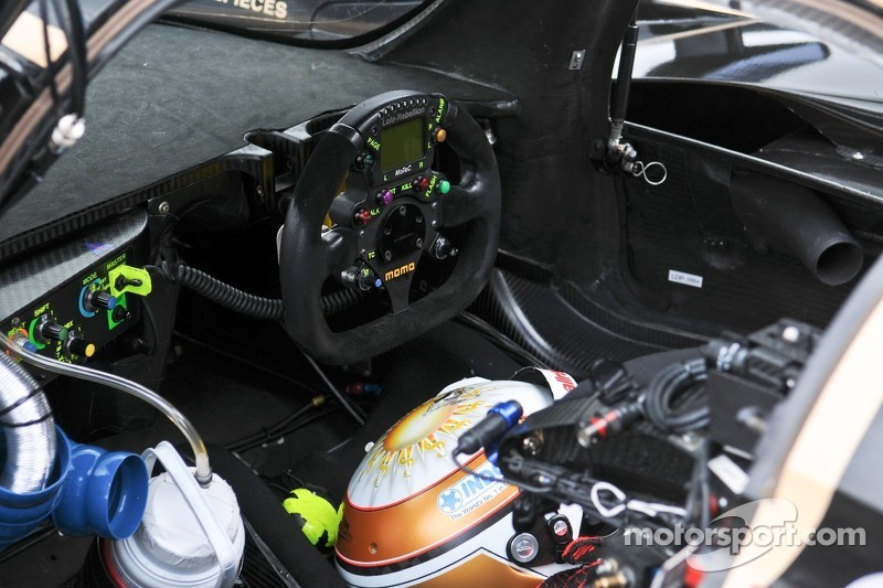 Interior of Lola-Toyota B12/60