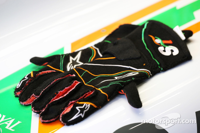 Sahara Force India F1 Team handschoenen