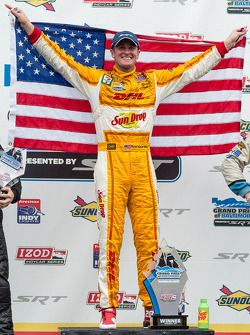 Gagnant de la course Ryan Hunter-Reay