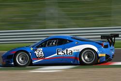 Бьорн Гроссман и Алексей Басов. FIA GT3: Москва, субботняя тренировка.