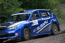 Pat Richard and Alan Ockwell, Subaru WRX STi
