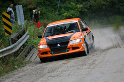Maxime Losier and Stéphane Lewis, Mitsubishi EVO VIII