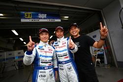 GT 300 pole sitters Morio Nitta, Koki Saga