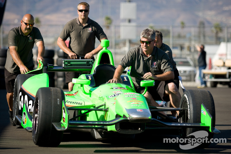Car of James Hinchcliffe, Andretti Autosport Chevrolet