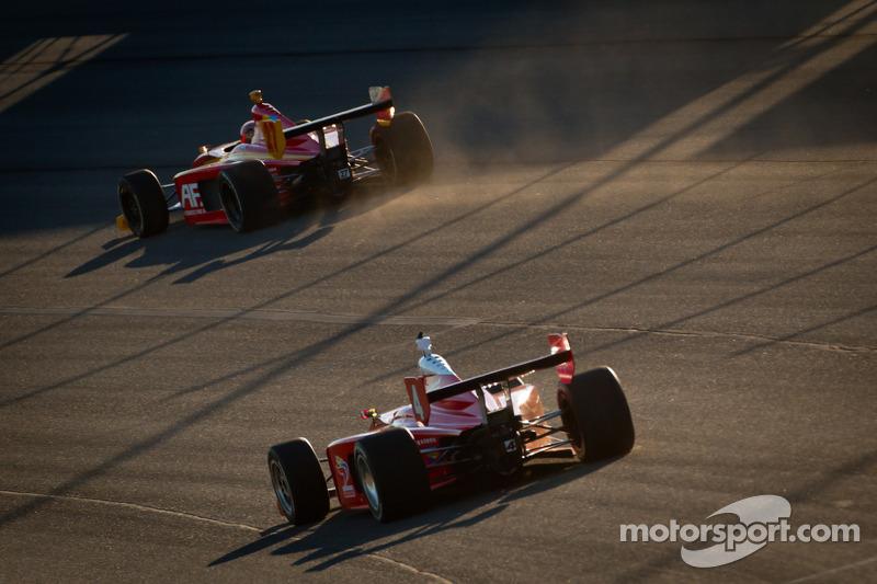 Sebastian Saavedra, AFS Racing en Jorge Goncalvez, Belardi Auto Racing