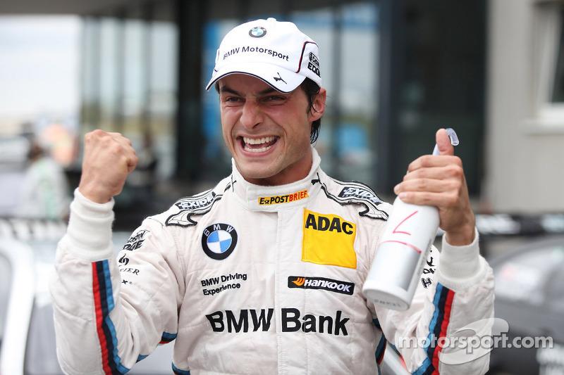 Pole for Bruno Spengler, BMW Team Schnitzer BMW M3 DTM