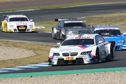 Martin Tomczyk, Audi Sport Team Rosberg, Audi A5 DTM, Christian Vietoris, Team HWA AMG Mercedes, AMG Mercedes C-Coupe and Timo Scheider, Audi Sport Team ABT Sportsline Audi A5 DTM
