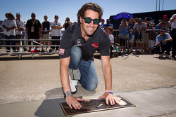 Dario Franchitti Walk of Fame ceremony: Dario Franchitti, Target Chip Ganassi Racing Honda