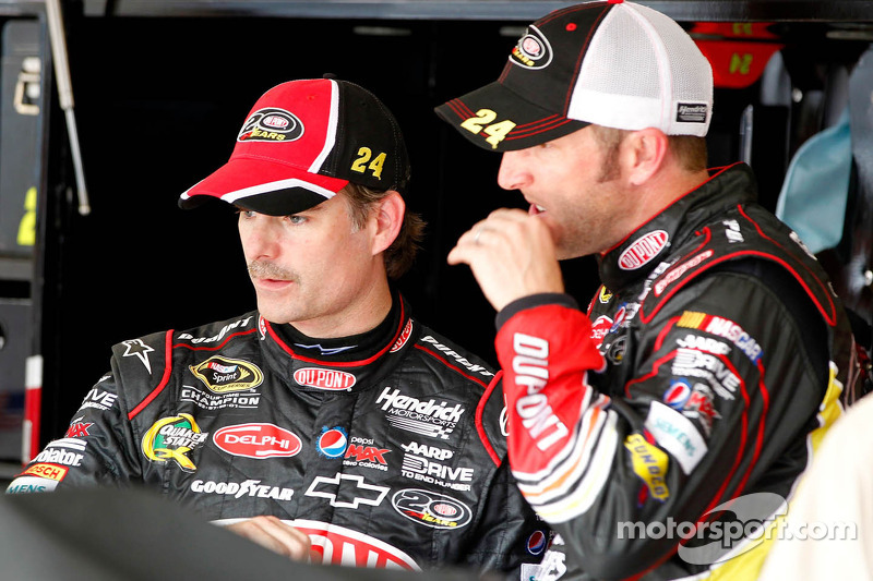 Trouble for Jeff Gordon, Hendrick Motorsports Chevrolet