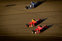 Alex Tagliani, Team Barracuda - BHA Honda, EJ Viso, KV Racing Technology Chevrolet, Scott Dixon, Target Chip Ganassi Racing Honda