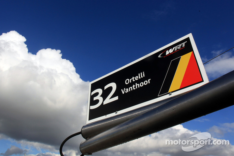 Belgian Audi Club Team WRT signage