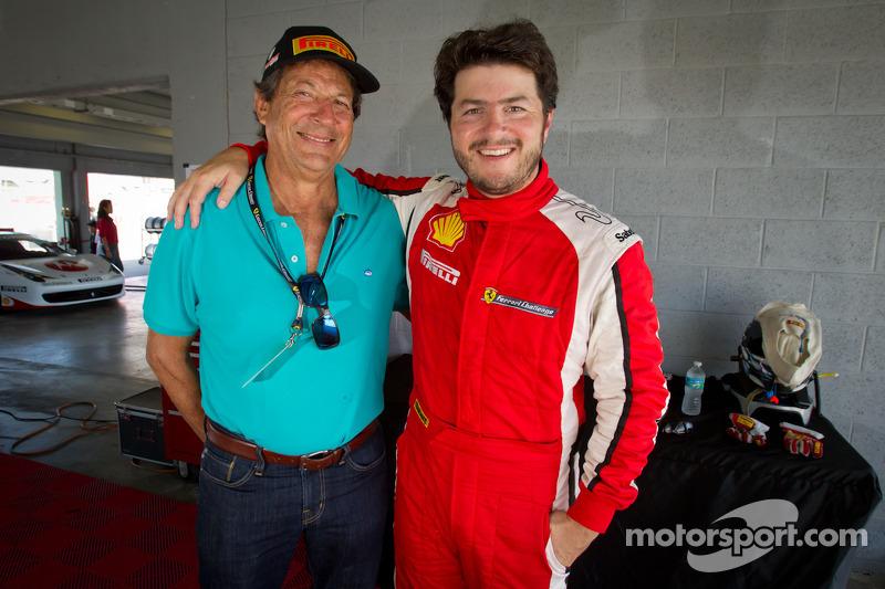 Provisional pole winner #24 Ferrari of Beverly Hills 458TP: Carlos Kauffmann