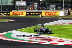 Michael Schumacher, Mercedes AMG F1 runs wide