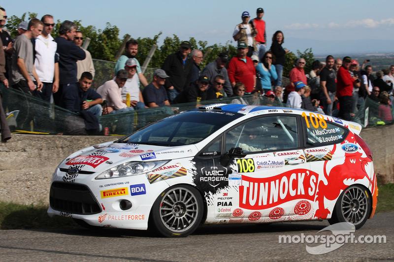 John Maccrone en Stuart Loudon, Ford Fiesta R2
