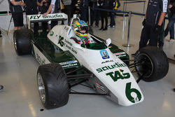 Bruno Senna, Williams F1 Team drives the Williams FW08