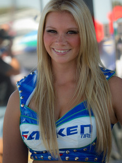 A Falken Tire girl