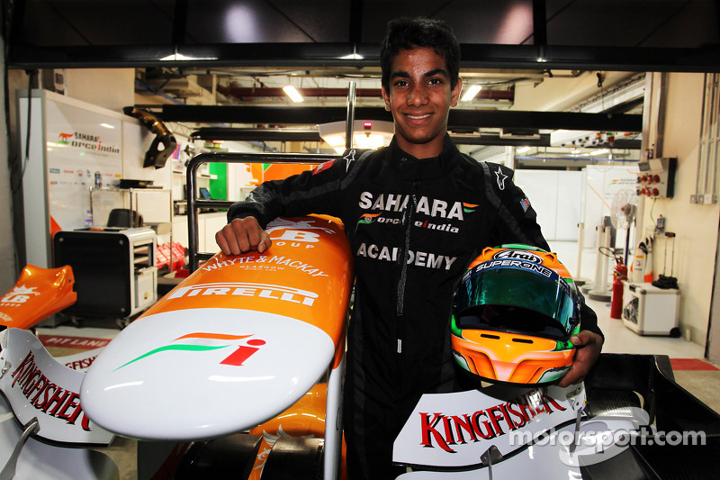 Jehan Daruvala, One From A Billion Academy Driver met Sahara Force India F1 Team