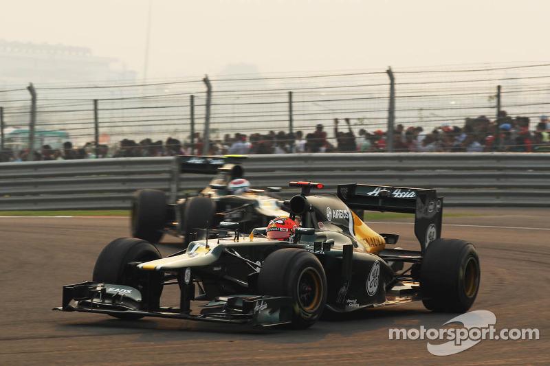 Heikki Kovalainen, Caterham en ploegmaat Vitaly Petrov, Caterham