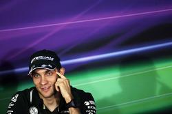 Vitaly Petrov, Caterham in the FIA Press Conference