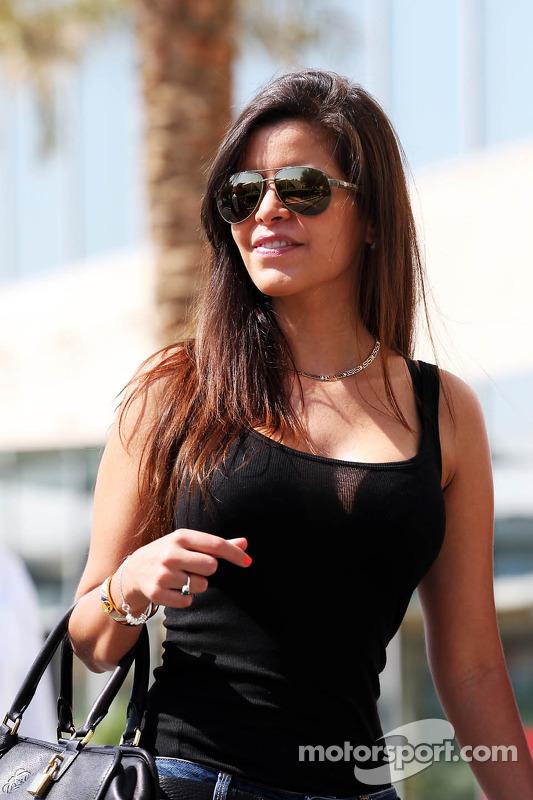 Gabriella Tarkany, vriendin van Pastor Maldonado, Williams