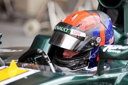 Alexander Rossi, pilote d'essais Caterham