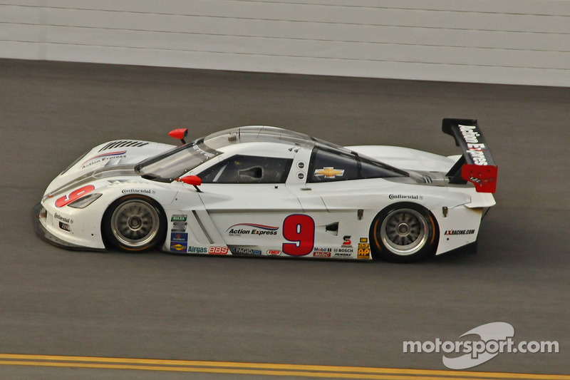 #9 Action Express Racing Corvette DP: Joao Barbosa, Burt Frisselle, Brian Frisselle, Christian Fittipaldi