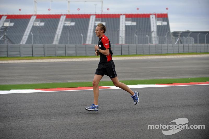 Max Chilton, Marussia Third Driver