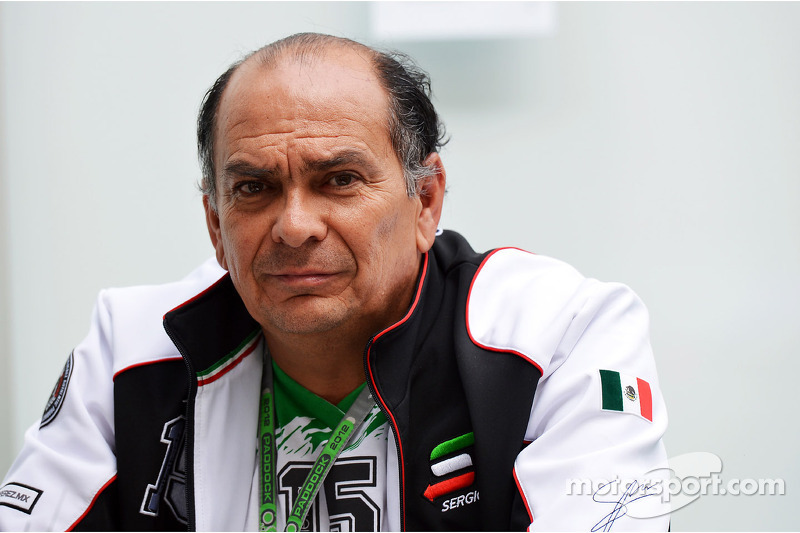 Antonio Perez, father of Sergio Perez, Sauber