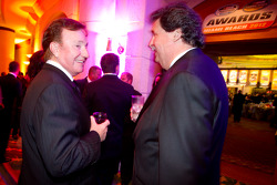 Richard Childress and NASCAR President Mike Helton